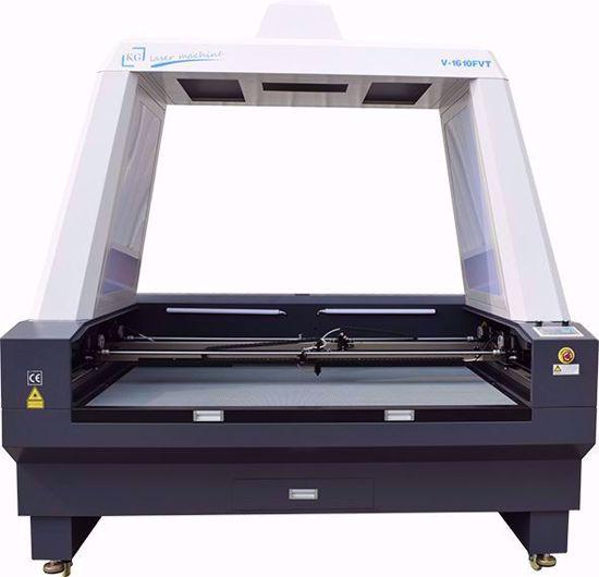 KG-CMA 1610FVT Büyük Kameralı Lazer Kesim Makinası