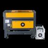 KGL 6040 Tek Kafa Lazer Kesim Makinası resmi